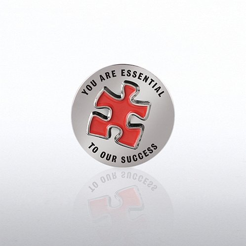 Bobble Lapel Pin - You Are Essential To Our Success