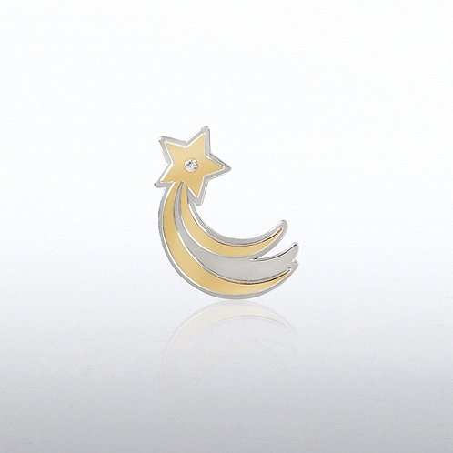 Lapel Pin - Shooting Star Gem