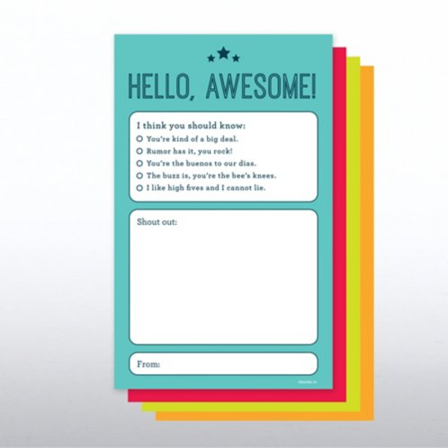 Onboarding Shout-Outs - Hello Awesome! at Baudville.com