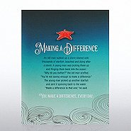 Character Pin - Seascape Starfish: Making a Difference