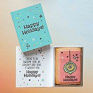 Holiday Cookie Card - Happy Holidays!