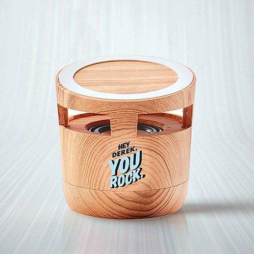 Modern Wood Wireless Bluetooth® Speaker Charging Pad