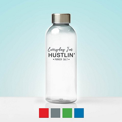 Custom Collection: Glossy Water Bottle Stainless Steel Lid