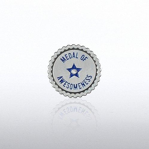 Lapel Pin -  Medal of Awesomeness Ribbon