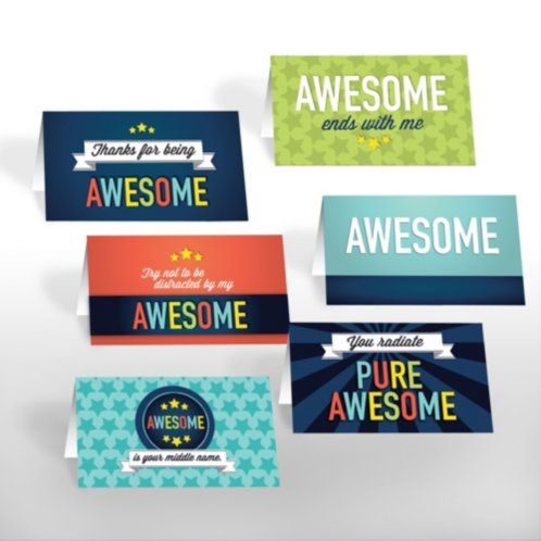 Pocket Praise - Thanks for Being Awesome at Baudville.com