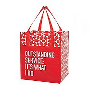 Value Grocery Tote - Outstanding Service: It's What I Do