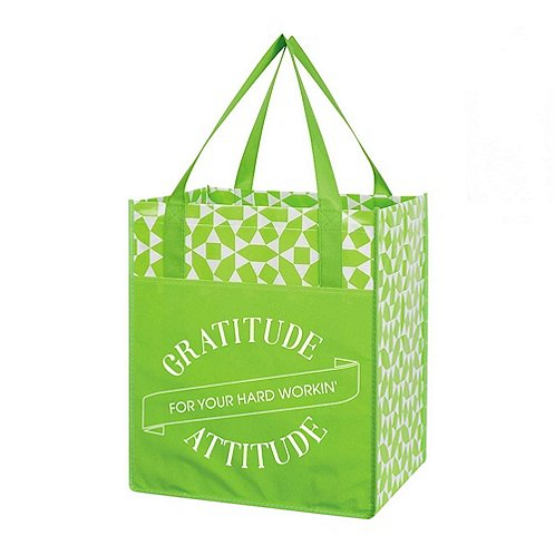 Value Grocery Tote- Gratitude For Your Hard Workin' Attitude