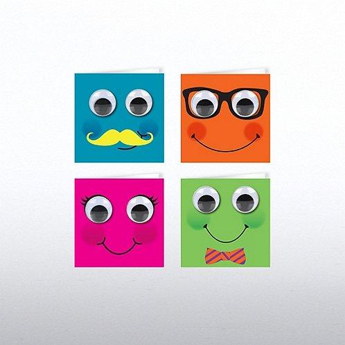 Tiny Cards - Googly Eye Fun Faces Set