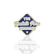 Lapel Pin - You Radiate Pure Awesome