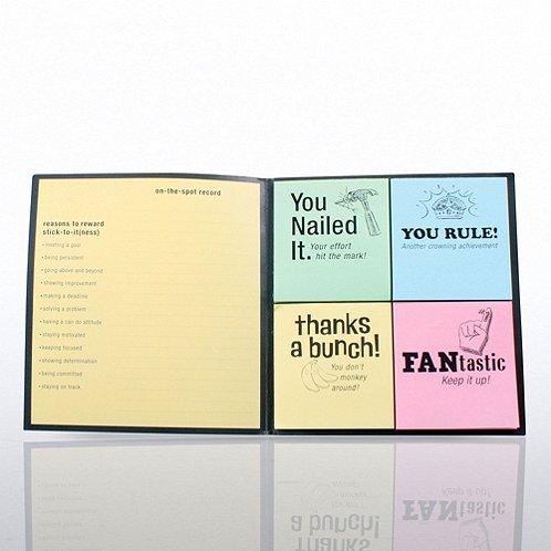 Peel & Stick Recognition Note Set