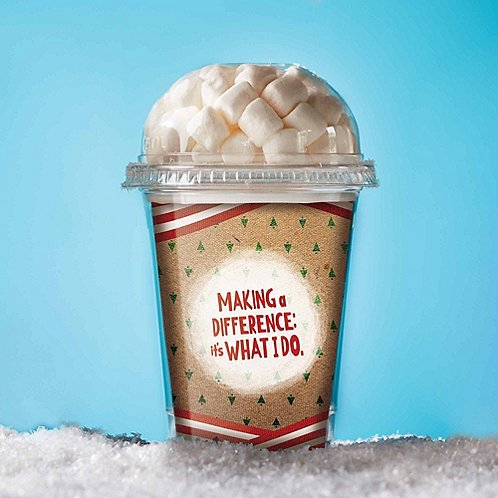 Hot Cocoa Cups - Making a Difference: It's What I Do