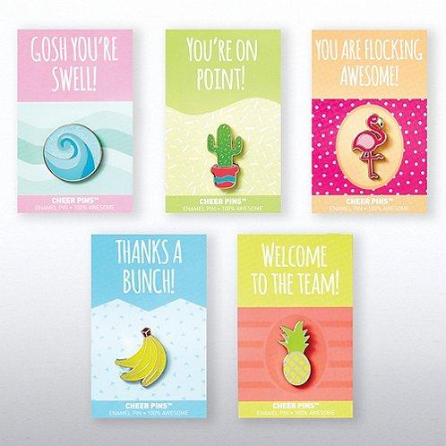 Cheer Pin Bundle - Good Vibes