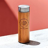 Custom Collection: Eco-Wise Bamboo Water Bottle