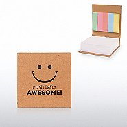 Value Notepad with Sticky Flags - Positively Awesome