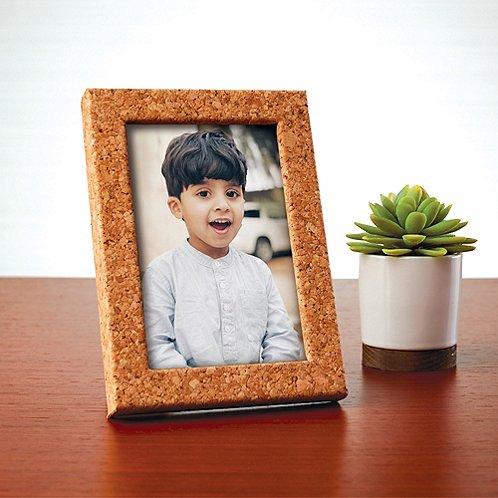 Cork Desktop Picture Frame
