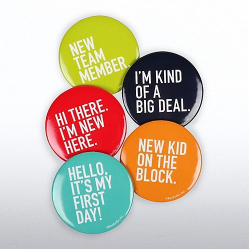 Onboarding Button Set for New Employees
