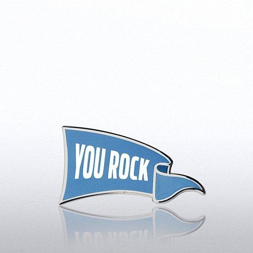 Lapel Pin - You Rock Banner