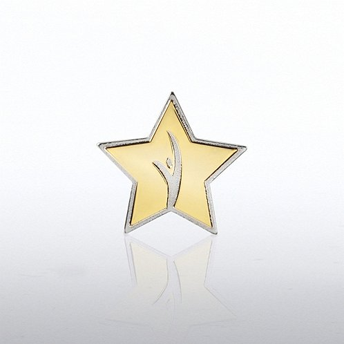 Lapel Pin - Guy in Star