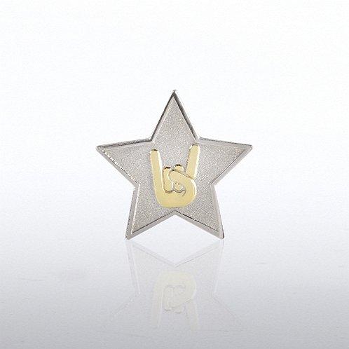 Lapel Pin - Star: You Rock