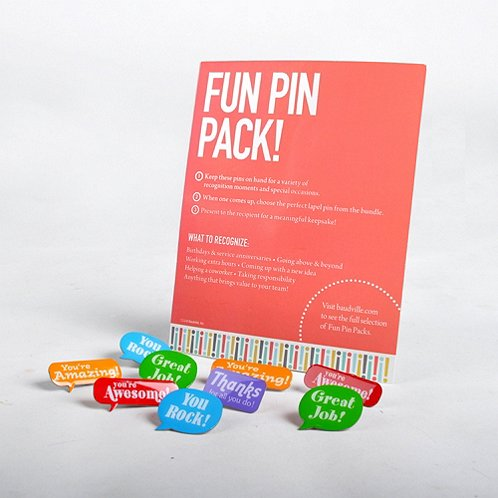 Fun Pin Pack - Positive Praise