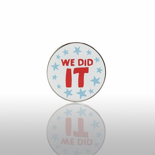 Lapel Pin - We Did It
