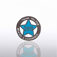 Lapel Pin - 2019 Cut Out Star