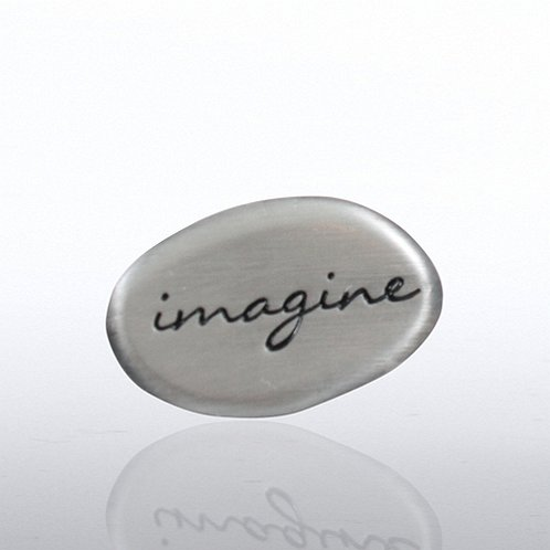 Lapel Pin - Stone Collection - Imagine