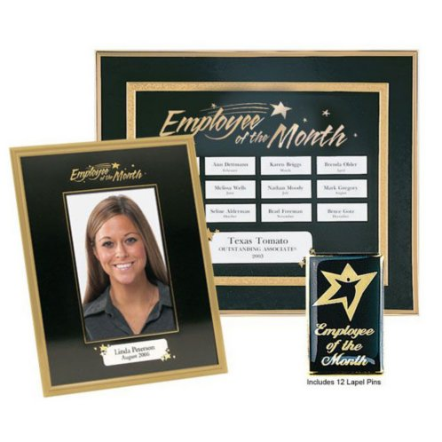 employee of the month plaque template  Perpetual Complete Program - Employee of the Month at Baudville.com