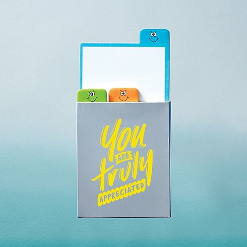 Value Emoti Notepad Set - Truly Appreciated