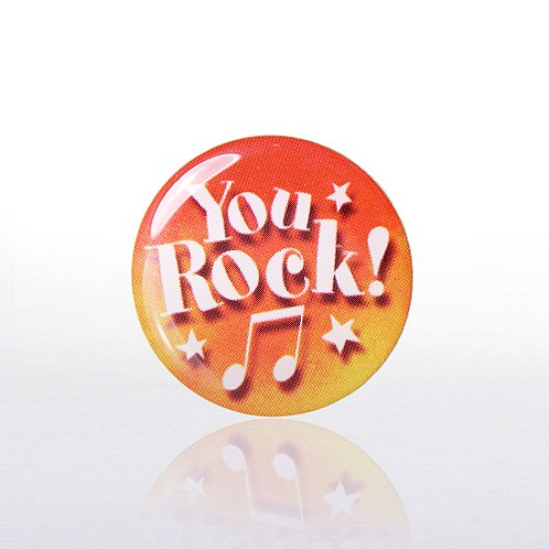 Lapel Pin - You Rock - Multi-Color