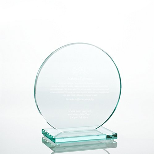 Jade Character Trophy - Round