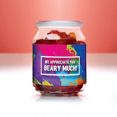 Candy Jar - We Appreciate You Beary Much