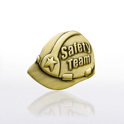 Lapel Pin - Safety Team