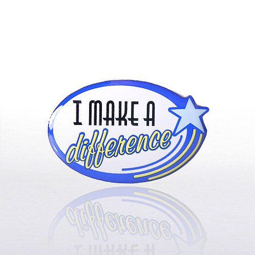 Lapel Pin - I Make a Difference