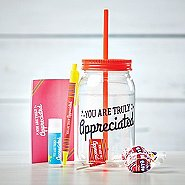 Value Mason Jar Gift Set - You Are Truly Appreciated
