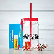 Value Mason Jar Gift Set - 100% Pure Awesome!