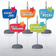 PVC Memo Clip Pack - Quote Bubble Star