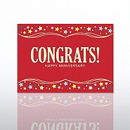 Classic Celebrations - Happy Anniversary - Congrats! - Red