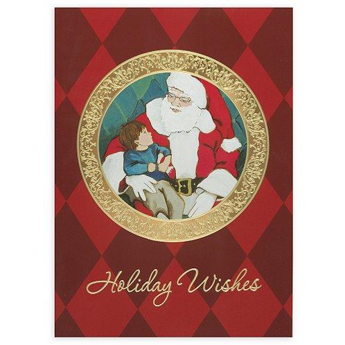 Holiday Greeting Card - Santa with Child