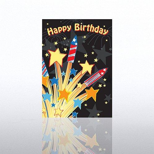 Classic Celebrations - Happy Birthday Fireworks