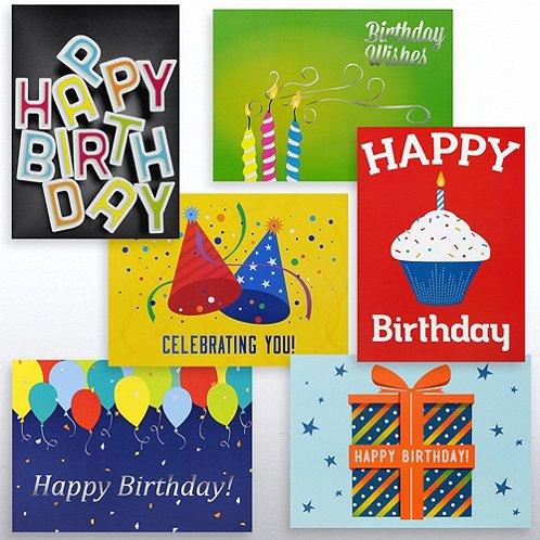 Classic Celebrations - Birthday Celebrations - Assortment