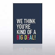Onboarding - Greeting Card - We Think...Big Deal