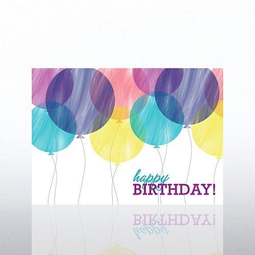 Classic Celebrations -Birthday Watercolors- Bithday Balloons