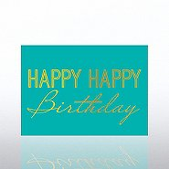 Classic Celebrations - Deluxe Foil Birthday - Happy Birthday
