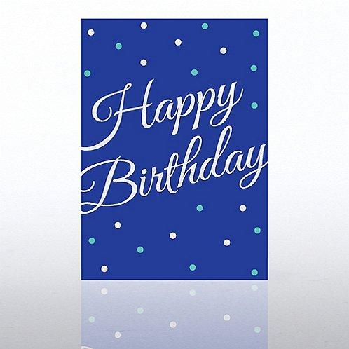 Classic Celebrations - Deluxe Foil Birthday - Foil Dots