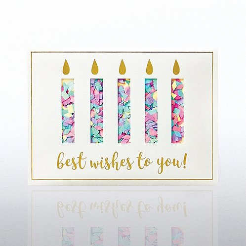 Classic Celebrations - Confetti Cheer - Birthday Candles