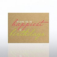 Classic Celebrations Card -Wishing You the Happiest Birthday