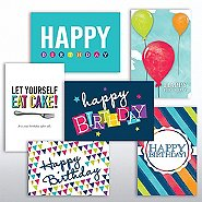 Value Greeting Card Assortment - Birthday Spirit