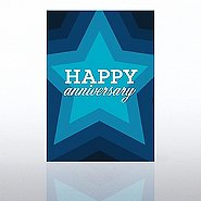 Classic Celebrations - Happy Anniversary Star Burst