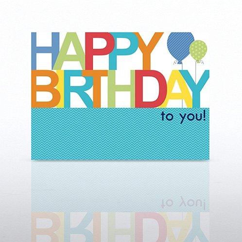 Classic Celebrations - Happy Birthday to You